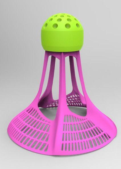 Schulsportmaterial.ch - Air Badminton Shuttle 3-er Pack 3 ...